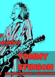 TOMMY STINSON en Barcelona - Rock Sound