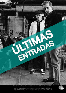 Event cartel stone madrid