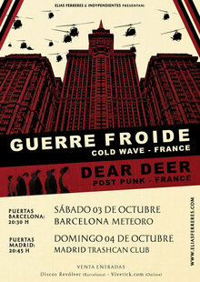 Guerre Froide · Dear Deer | Trashcan MC, Madrid