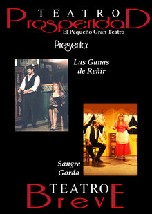 Event cartel teatro breve