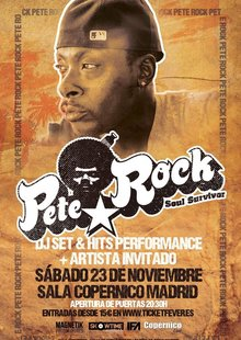 PETE ROCK en directo Madrid