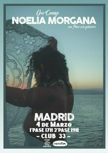 Noelia Morgana en Madrid