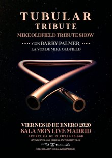 Tubular tribute - Tributo a Mike Oldfield con Barry Palmer - Madrid