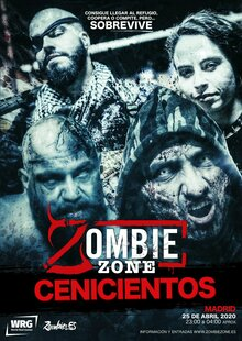 Zombie Zone: Cenicientos (MADRID)