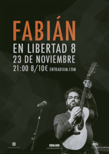 Fabián en Madrid