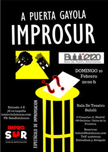 Event cartel improsur