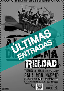 Event cartel alameda ultimas