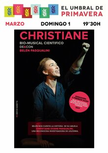 Event cartel  christiane entradium