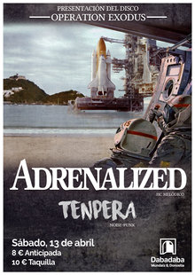 ADRENALIZED (Presentación Operation Exodus) + Tenpera