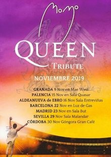 MOMO Tributo a QUEEN en Córdoba - Gran Café - BLACK FRIDAY