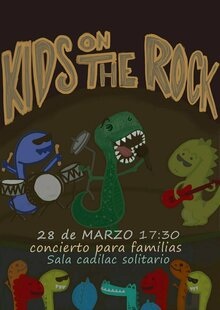 Event 28 kids on the rock