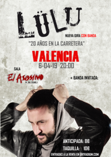 Event cartel valencia