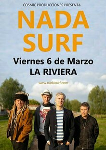 Event nada surf riviera madrid