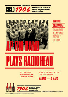 CICLO 1906 presenta: AP Plays RADIOHEAD en Madrid