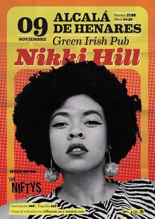 NIKKI HILL + The Niftys en Alcalá de Henares - Green Irish