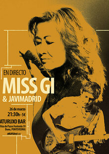 Event cartel concierto miss gi   javimadrid en aturuxo bar pequen%cc%83o