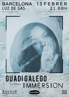 Event guadi galego immersion barcelona 13 febrero cartel 2