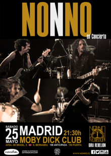 Event cartel nonno madrid moby dick internet