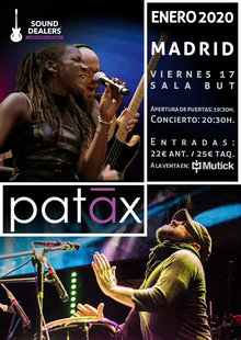 Event entradas patax madrid