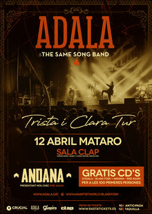 ADALA & THE SAME SONG BAND + ANDANA @ Sala Clap