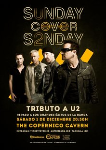 Event tributo u2 madrid sala copernico cavern   sunday cover s2nday