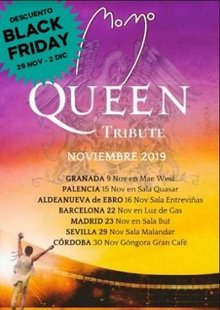 MOMO Tributo a QUEEN en Sevilla - Malandar - BLACK FRIDAY