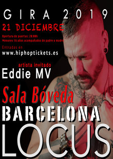 Event cartel barcelona para hip hop tickets