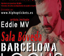 Event grid cartel barcelona para hip hop tickets