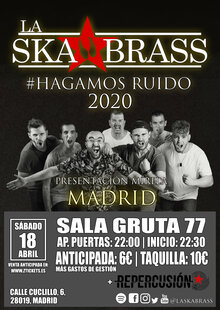 Event cartel madrid ztickets