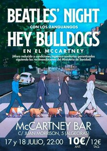 HEY BULLDOGS - Homenaje a The Beatles en Algeciras - McCartney Bar