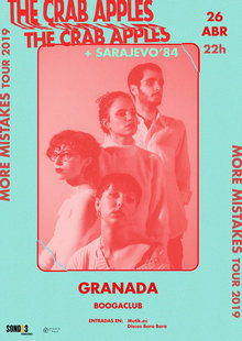 The Crab Apples + Sarajevo '84 en Boogaclub, Granada