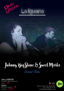 Blues a La Iguana: Sweet Marta & Johnny Bigstone