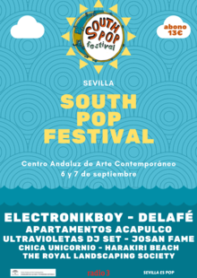 Event south pop festival 2019 v 7 con precio