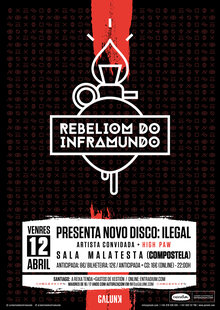 Event cartel a3 santiago