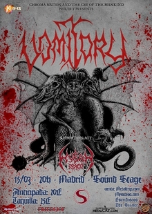 Event vomitory en madrid