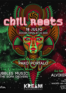 Event chill roots 18julio