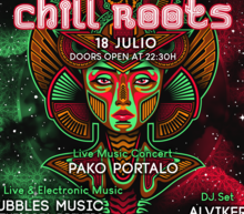 Event grid chill roots 18julio