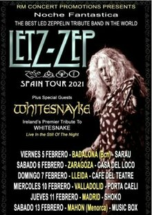 LETZ ZEP - Tributo LED ZEPPELIN en Madrid - Shoko