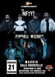 The Niftys + Pinball Wizard en Madrid
