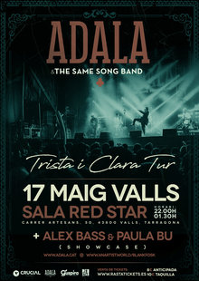 ADALA & THE SAME SONG BAND @ Sala Red Star