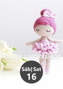 Patrón gratis amigurumi de bailarina rosa!   Crochet doll pattern ...   310x220