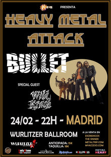 Event bullet madrid web