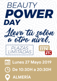 BEAUTY POWER DAY Almería 27/05/2019
