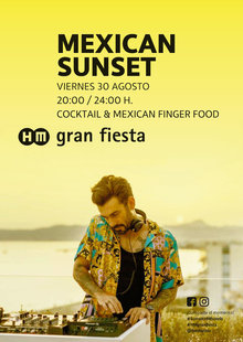 Event 30 aug mexican sunset gf