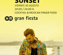 Event grid 30 aug mexican sunset gf