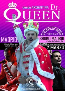 Event entradas tributo queen madrid