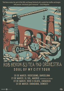 Rob Heron & The Tea Pad Orchestra en BCN