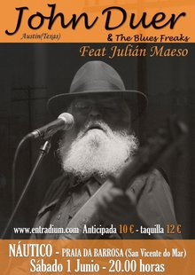 John Duer and The Blues Freaks feat Julián Maeso