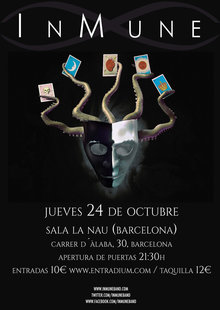 Event cartel barcelona entradium