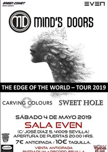 Event cartel minds doors sevilla 04.05.19